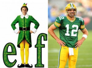 02 Will Ferrell thinks his uniform is Packers appropriate