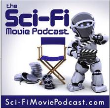Sci-Fi Movie Podcast album art logo